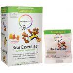 Rainbow Light Bear Essentials Multivitamin & Multimineral-Assorted Flavors 30 Packets Children's Multivitamins