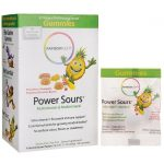 Rainbow Light Power Sours Multivitamin & Multimineral – Assorted Flavors 30 Packets Children's Multivitamins