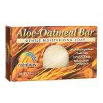 Rainbow Research Aloe-Oatmeal Bar Soap 4.2 oz Bars