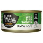 Raincoast Wild Pink Salmon 5.65 oz Can Essential Fatty Acids