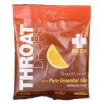 Redd Remedies Throat Drops – Sweet Lemon 16 ct Respiratory Health