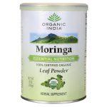 Organic India Moringa Leaf Powder 8 oz Powder Herbs and Supplements