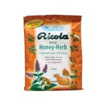 Ricola Natural Herb Throat Drops Honey-Herb 24 ct Immune Support