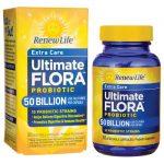 Renew Life Extra Care Ultimate Flora Probiotic – 50 Billion 50 Billion CFU 30 Veg Caps