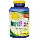 Renew Life Triple Fiber 150 Veg Caps Digestive Health and Fiber