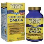 Renew Life Norwegian Gold Super Critical Omega 1,200 mg 30 Soft Gels Essential Fatty Acids