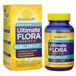 Renew Life Ultimate Flora Probiotic 80 Billion CFU 30 Veg Caps