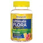 Renew Life Ultimate Flora Probiotic Sour Gummies 3 Billion CFU 60 Gummies