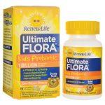 Renew Life Ultimate Flora Kids Probiotic – Sun-Kissed Orange 1 Billion CFU 60 Chewables