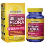 Renew Life Women's Vaginal Ultimate Flora Probiotic – 50 Billion 50 Billion CFU 60 Veg Caps