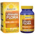 Renew Life Everyday Ultimate Flora Probiotic – 15 Billion 15 Billion CFU 60 Veg Caps