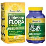 Renew Life Adult 50+ Ultimate Flora Probiotic – 30 Billion 30 Billion CFU 90 Veg Caps