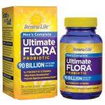 Renew Life Men's Complete Ultimate Flora Probiotic 90 Billion CFU 30 Veg Caps