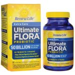 Renew Life Extra Care Ultimate Flora Probiotic – 50 Billion 50 Billion CFU 90 Veg Caps