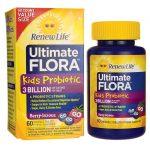 Renew Life Ultimate Flora Kids Probiotic 3 Billion CFU 60 Chewables