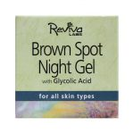 Reviva Labs Brown Spot Night Gel with Glycolic Acid 1.5 oz Gel Skin Care