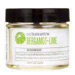 Schmidt's Deodorant Bergamot + Lime 2 oz Cream