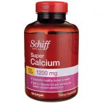 Schiff Super Calcium 1200 mg 120 Soft Gels Bone Health