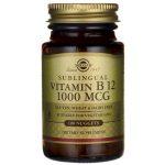 Solgar Sublingual Vitamin B 12 1,000 mcg 100 Tabs B Vitamins