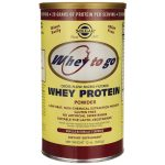 Solgar Whey To Go Protein Powder – Vanilla Naturally Flavored 12 oz Powder