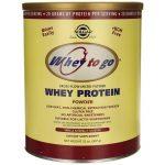 Solgar Whey To Go Protein Powder – Vanilla Naturally Flavored 32 oz Powder