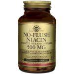 Solgar No-Flush Niacin 500 mg 100 Veg Caps B Vitamins
