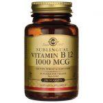 Solgar Sublingual Vitamin B 12 1,000 mcg 250 ct B Vitamins