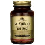 Solgar Natural Vitamin K2 (Mk-7) 100 mcg 50 Veg Caps Bone Health