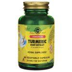 Solgar Turmeric Root Extract 60 Veg Caps Liver Health