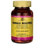 Solgar Female Multiple 60 Tabs Multivitamins
