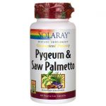 Solaray Pygeum & Saw Palmetto 60 Veg Caps Herbs and Supplements