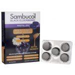 Sambucol Black Elderberry Pastilles Original Formula Throat Lozenge 20 Lozenges Immune Support