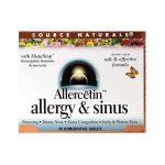 Source Naturals Allercetin Allergy & Sinus 48 Tabs