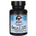 Source Naturals Arctic Pure Omega-3 1125 1,125 mg 30 Soft Gels Essential Fatty Acids