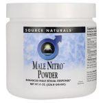 Source Naturals Male Nitro Powder 8 oz Powder Sexual Health