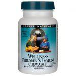 Source Naturals Wellness Children's Immune Chewable 30 Wafers Immune Support