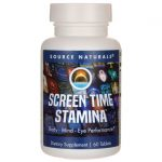 Source Naturals Screen Time Stamina 60 Tabs Vision Health