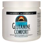 Source Naturals Glutamine Comfort 4 oz Powder Digestive Health and Fiber