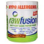 San Nutrition Rawfusion Plant Based Protein – Peanut Chocolate Fudge 16.5 oz Powder