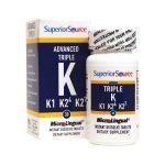 Superior Source Advanced Triple K 30 Tabs Bone Health