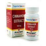 Superior Source Cinnamon Extract 150 mg 120 Tabs Blood Sugar Support