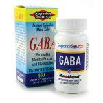 Superior Source Gaba 100 mg 100 Tabs Stress and Mood