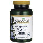 Swanson Premium Full-Spectrum Myrrh Gum 600 mg 120 Caps Immune Support
