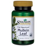 Swanson Premium Full Spectrum Mullein Leaf 500 mg 60 Caps Herbs and Supplements
