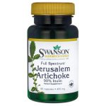 Swanson Premium Full Spectrum Jerusalem Artichoke 400 mg 60 Caps Colon Care