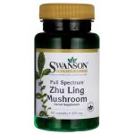 Swanson Premium Full Spectrum Zhu Ling Mushroom 400 mg 60 Caps