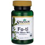 Swanson Premium Fo-Ti 500 mg 60 Caps Immune Support