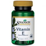 Swanson Premium Vitamin E 400 Iu 400 Iu 60 Soft Gels Heart Health
