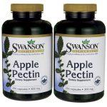 Swanson Premium Apple Pectin 300 mg 500 Caps Digestive Health and Fiber