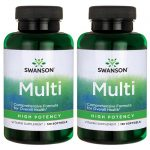 Swanson Premium Multi – High Potency 240 Soft Gels Multivitamins